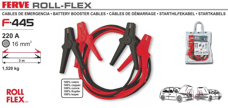 Kable przewody rozruchowe 220A Ferve 3 metra