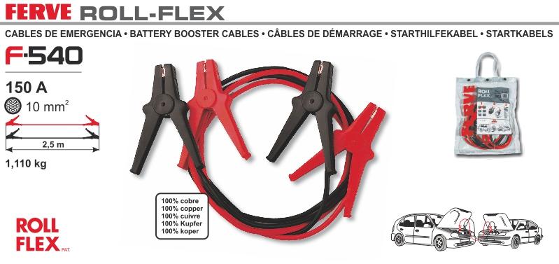 Kable przewody rozruchowe Ferve 150A