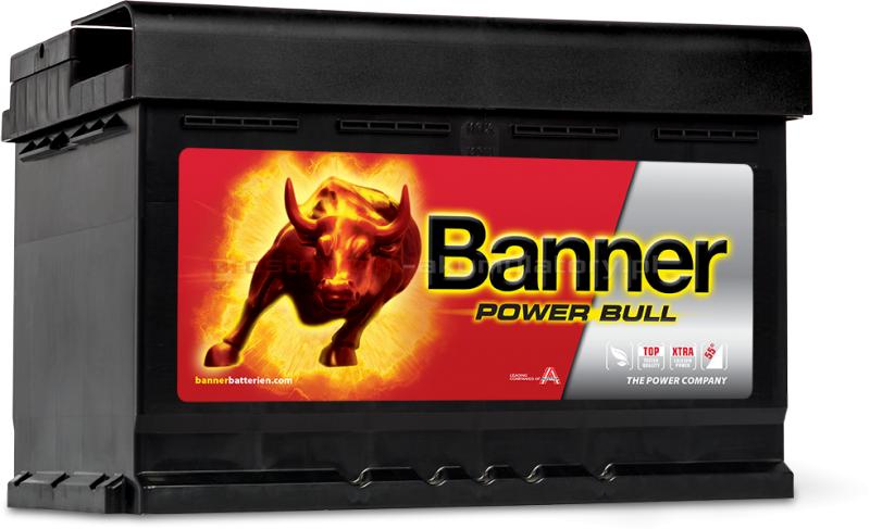 Akumulator Banner Power Bull 74Ah 680A P+ P7412 3370884ae6a