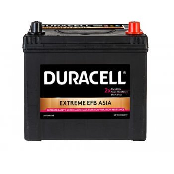 Akumulator Duracell EXTREME DE70 EFB 12V 70Ah 680A ASIA do systemu start stop, hybryd