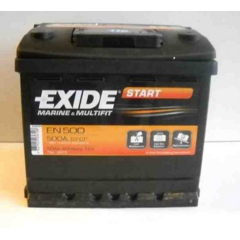 Akumulator 50Ah 450A Exide Start EN500