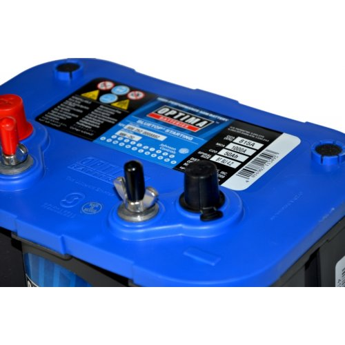 Optima 50Ah 1000A BLUE TOP AGM SLI4.2